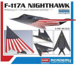 Academy 12219 - F-117A Nighthawk Last Flight