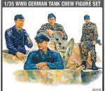 Academy 13253 - GERMAN TANK CREW (1371) - 4 figures