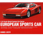 Academy 15526 - EUROPEAN SPORTS CAR