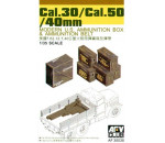 Afv Club 35035 - CAL.30/ CAL.50/ 40 mm AMMO BOXES
