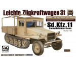 Afv Club 35047 - Sdkfz11 late version with wood cab