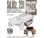 Afv Club 35081 - SdKfz 251latest type rubber