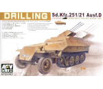 Afv Club 35082 - SDKFZ 251/21 DRILLING