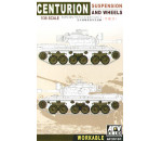 Afv Club 35101 - Centurion Suspension and wheels