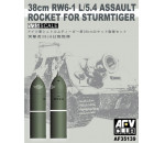 Afv Club 35139 - 38cm RW61 rocket set for Sturmtiger