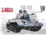 Afv Club 35144 - T34/76 Mod. 1942/43 No.183 (Full Int.)