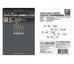 Afv Club 35158 - British 20 pdr ammo set