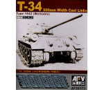 Afv Club 35173 - T-34 50cm cast track (workable)