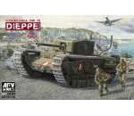 Afv Club 35176 - Churchill Mk.3 (Dieppie)Includ. Workable