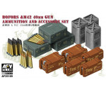 Afv Club 35189 - Bofors&M42 40mm Gun AMMO&Accessories Set