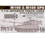 Afv Club 35S23 - M109 SP GUN TRACKS