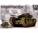 Afv Club 35S54 - Churchill Mk.3/75mm (limited edition kit
