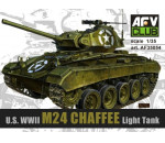 Afv Club AF35054 - WWII M24 Chaffee Light Tank