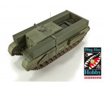 Afv Club DH96006 - 1/35 British 3 Inch gun Churchill tank &