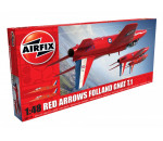 Airfix A05124 - A05124 Red Arrows Gnat repülő makett