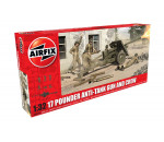 Airfix A06361 - 17 Pounder Anti-Tank Gun and Crew löveg makett