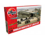 Airfix A09008 - Douglas Dakota MkIII with Willys Jeep makett