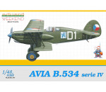 Eduard 8475 - Avia B-534 serie IV WEEKEND