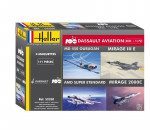 Heller 52320 - Coffret 100 ANS Dassault Aviation(4model MirageIII+2000+S-Et