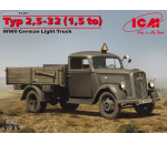 ICM 35401 - Typ 2,5-32 (1,5 to), WWII German Light Truck
