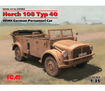 ICM 35505 - Horch 108 Typ 40, WWII German Personnel Car (100% new molds)