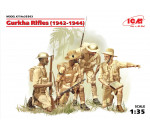 ICM 35563 - Gurkha Rifles (1944) (4 figures)