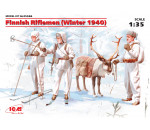 ICM 35566 - Finnish Riflemen (Winter 1940) (4 figures - 3 rifleman, 1 re