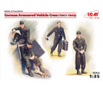 ICM 35614 - German Armoured Vehicle Crew (1941-1942) (4 figures and cat)