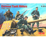 ICM 35634 - German Tank Riders (1942-1945),  (4 figures)