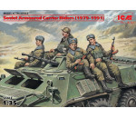 ICM 35637 - Soviet Armored Carrier Riders (1979-1991), (4 figures)