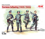ICM 35639 - German Infantry (1939-1941) (4 figures) (100% new molds)
