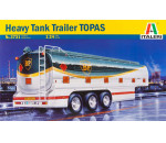 Italeri 3731 - Heavy Tank Trailer 'Topas' (Trucks & Trailers)