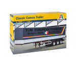 Italeri 3908 - CANVAS TRAILER 40ft (Classic)