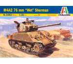 Italeri 6483 - M4A2 76mm Wet Sherman