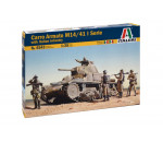 Italeri 6543 - CARRO ARMATO M13/40 with BERSAGLIERI - 6 figures