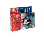 Italeri 70391 - BELL 412 Los Angeles City Fire - Model Set