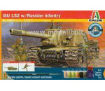 Italeri 73005 - ISU-152 with Russian infantry