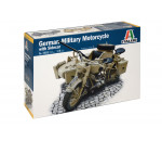 Italeri 7403 - German Milit.Motorcycle with Sidecar