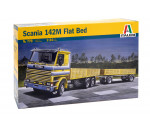 Italeri 770 - SCANIA 142M FLATBED Truck and Trailer