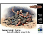 MasterBox 35102 - German infantry defense, Eastern Front