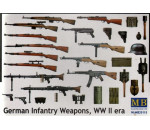 MasterBox 35115 - German infantry weapons, WWII
