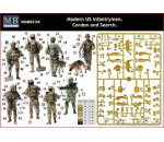 MasterBox 35154 - Modern U.S.infantrymen. Cordon and Searc