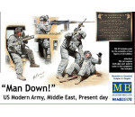 MasterBox 35170 - Man Down! U.S. Modern Army,Middle east