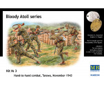 MasterBox 3544 - 'Bloody Atol' Hand-to-hand fight, Tarawa