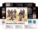 MasterBox 3583 - German Elite infantry,Eastern Front WWII