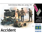 MasterBox 3590 - Accident. Soviet & German military men,