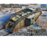 MasterBox 72006 - Mk II Female British tank.Arras Battle