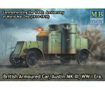 MasterBox 72007 - Austin Mk.III British armored car1914-18