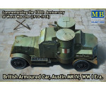 MasterBox 72008 - Austin Mk.IV British armored car,1914-18