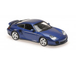 Maxichamps  - PORSCHE 911 TURBO (996) - 1999 - BLUE METALLIC